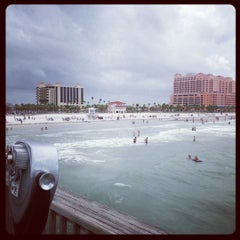 Photo taken at Clearwater Beach Pier by Kyle H. on 8/21/2012