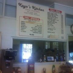 Photo taken at Kaya's Kitchen by Michael C. on 4/13/2012