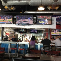 Photo taken at Pluckers Wing Bar by Kese K. on 4/29/2012