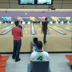 Photo taken at AMF Gulf Gate Lanes by Simply S. on 3/7/2012