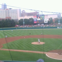 Photo taken at Victory Field by Heather D. on 7/13/2012
