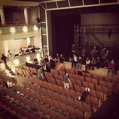 Photo taken at Sorenson Center for the Arts by Tyler M. on 4/12/2012