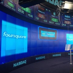 Photo taken at Nasdaq by Matt S. on 5/21/2012
