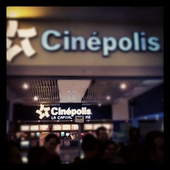 Photo taken at Cinépolis by Fernando ˑ. on 7/27/2012