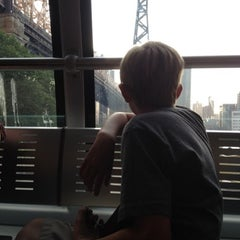 Photo taken at Roosevelt Island Tram by Nate D. on 8/2/2012