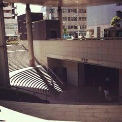 Photo taken at 用賀駅 (Yoga Sta.) by Tsuneyuki T. on 8/23/2012