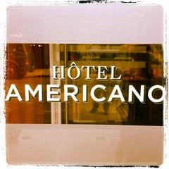 Photo taken at Hôtel Americano by angelluis on 8/30/2012