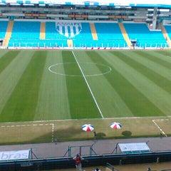 Photo taken at Estádio Aderbal Ramos da Silva (Ressacada) by Denise C. on 8/4/2012