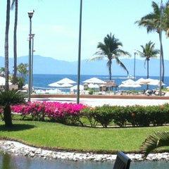 Photo taken at CasaMagna Marriott Resort & Spa by Paty Q. on 4/23/2012