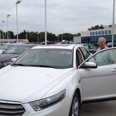 Photo taken at Brondes Ford by Richard K. on 8/13/2012
