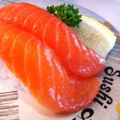 Photo taken at Sushi Train by Spatial Media on 5/5/2012