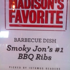 Photo taken at Smoky Jon's No 1 B-B-Q by Terry on 5/6/2012