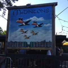 Photo taken at MacDinton's Irish Pub & Restaurant by Cyndee H. on 6/30/2012