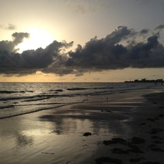 Photo taken at Madeira Beach by Diana L. on 7/26/2012