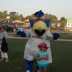 Photo taken at Arm & Hammer Park by Adrienne F. on 8/30/2012