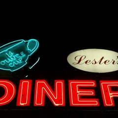 Photo taken at Lester's Diner by Timothy M. on 2/12/2012