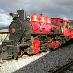 Photo taken at Estación de Tren Chimbacalle by Daniel D. on 8/20/2012