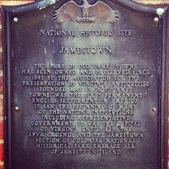Photo taken at Historic Jamestowne by Adam S. on 5/10/2012