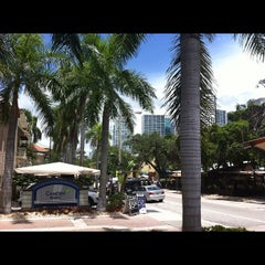 Photo taken at The Shops At Mary Brickell Village by Sam H. on 8/6/2012