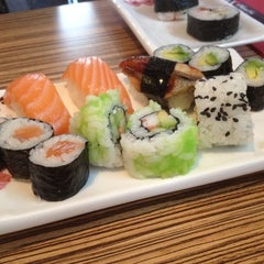 Photo taken at Nagoya Sushi & Grill by Peter T. on 5/4/2012