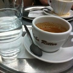 Photo taken at Café Ritter by Josef G. on 8/2/2012