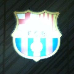 Photo taken at FCBotiga Maremagnum by José Miguel S. on 3/18/2012