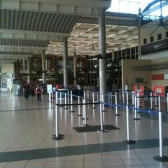 Photo taken at Aeropuerto Internacional del Cibao by Carlos T. on 4/8/2012