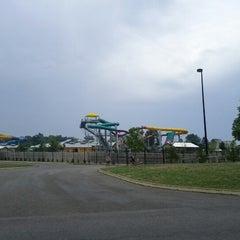 Photo taken at Zoombezi Bay Waterpark by Rebecca Z. on 7/23/2012