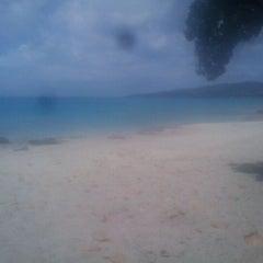 Photo taken at Dutch Beach by Akilah J. on 4/12/2012