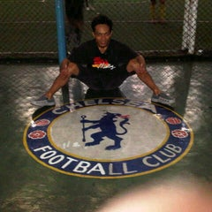 Photo taken at Galaxy Futsal Center by rano h. on 8/29/2012