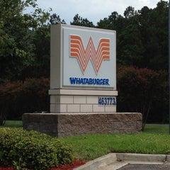 Photo taken at Whataburger by Chris B. on 8/12/2012
