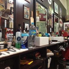 Photo taken at Barbearia 9 de Julho by Tiago on 7/13/2012