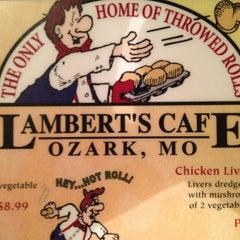 Photo taken at Lambert's Cafe by Brandon B. on 3/14/2012