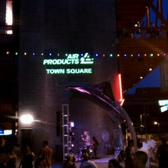 Photo taken at Air Products Town Square by Paula W. on 8/9/2012