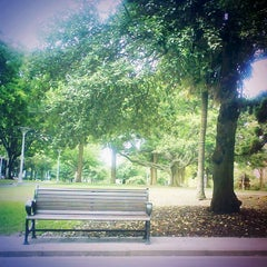 Photo taken at Hyde Park by 「 SAL 」 on 5/17/2012