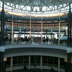 Photo taken at Cincinnati / Northern Kentucky International Airport (CVG) by Sandra D. on 4/14/2012