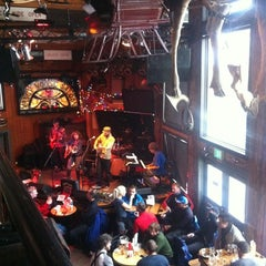 Photo taken at Mangy Moose Restaurant and Saloon by Mike M. on 2/22/2012