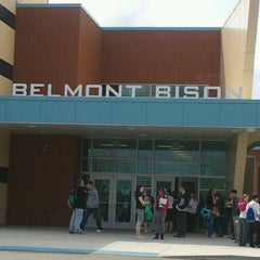 Photo taken at Belmont High School by Meagan on 4/16/2012