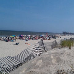 Photo taken at Ortley Beach, NJ by Courtney on 8/5/2012