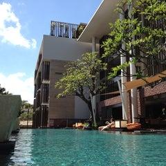 Photo taken at Anantara Seminyak Bali Resort & Spa by Cynthia D. on 4/19/2012