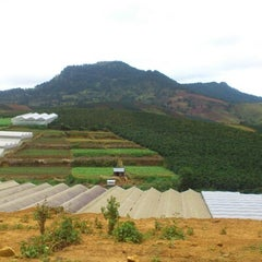 Photo taken at LangBiang Hill by Nguyen Q. on 7/27/2012