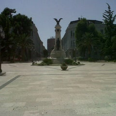Photo taken at Piazza Rossetti by Francesca T. on 7/28/2012
