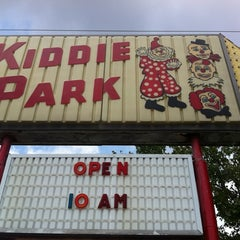 Photo taken at Memphis Kiddie Park by Rick U. on 7/15/2012