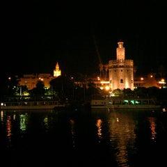 Photo taken at Abades Triana by Álex Jiménez on 9/1/2012