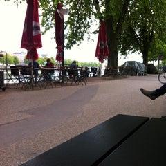 Photo taken at Den Franske Café by Martin G. on 5/7/2012