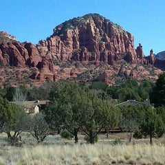 Photo taken at Sedona Red Rocks by kimberly s. on 2/18/2012