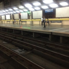 Photo taken at Yellow Line - Araneta Center-Cubao Station by R.C. R. on 3/21/2012