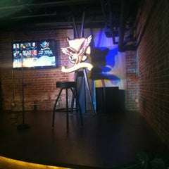 Photo taken at The American Comedy Co. by Justin O. on 4/13/2012
