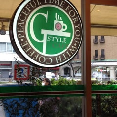 Photo taken at ジースタイルカフェ (G-Style Cafe) by Sam C. on 3/24/2012