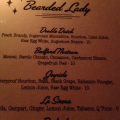 Photo taken at Bearded Lady by Michael M. on 4/29/2012